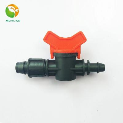 16 Plastic Drip Pipe Mini Valve For Agricultural Irrigation